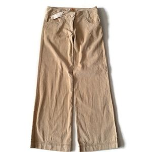 TULLE NWT tan cute comfy corduroy trousers